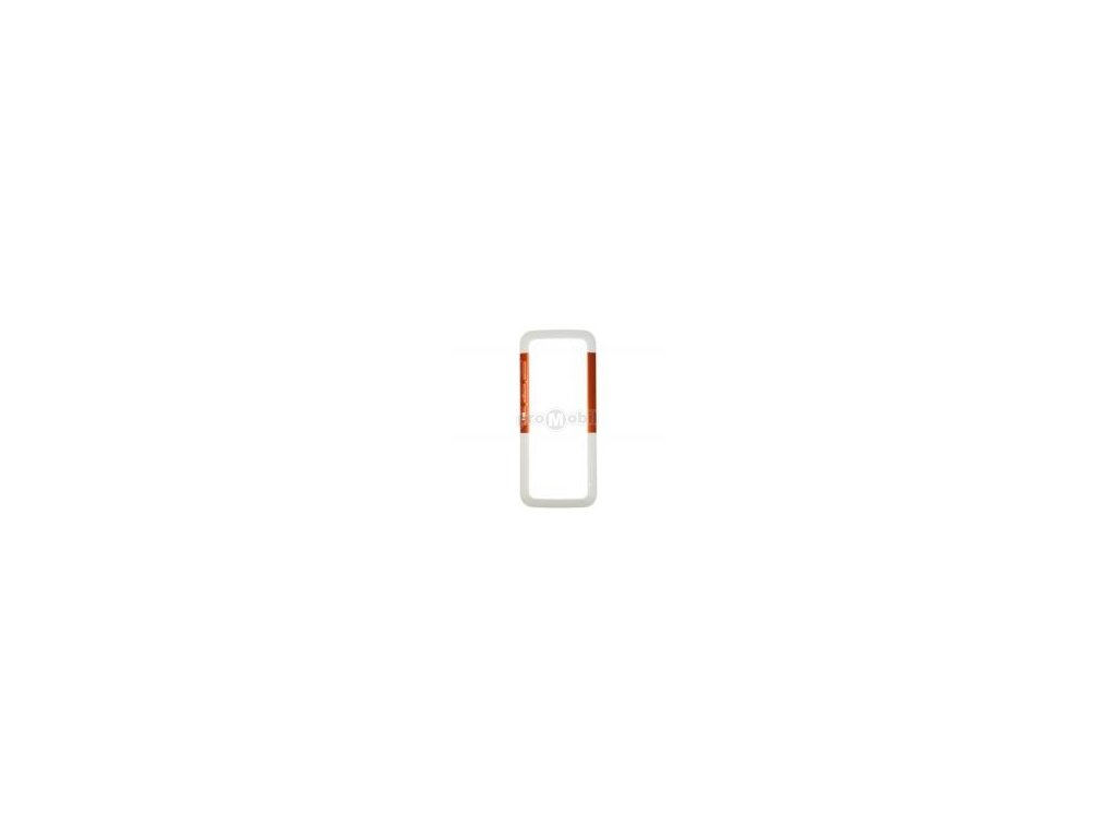 Front cover  Nokia 5310 white/orange - original