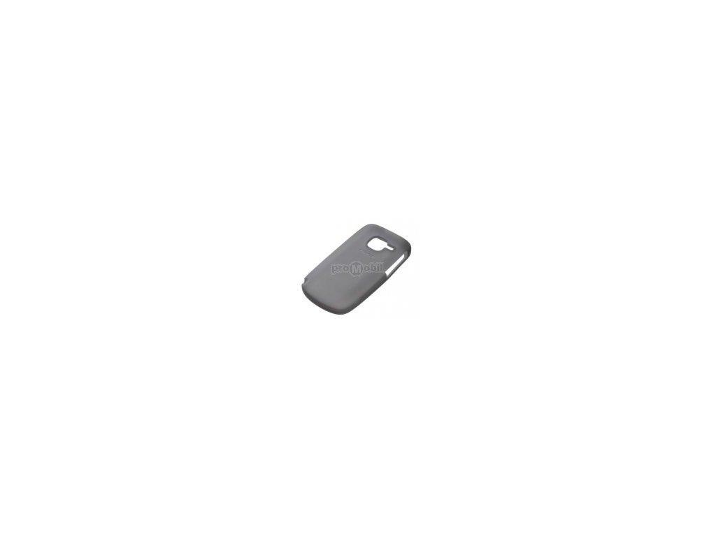 Pouzdro Nokia CC-1004 silikonové pro Nokia C3 BLACK - original