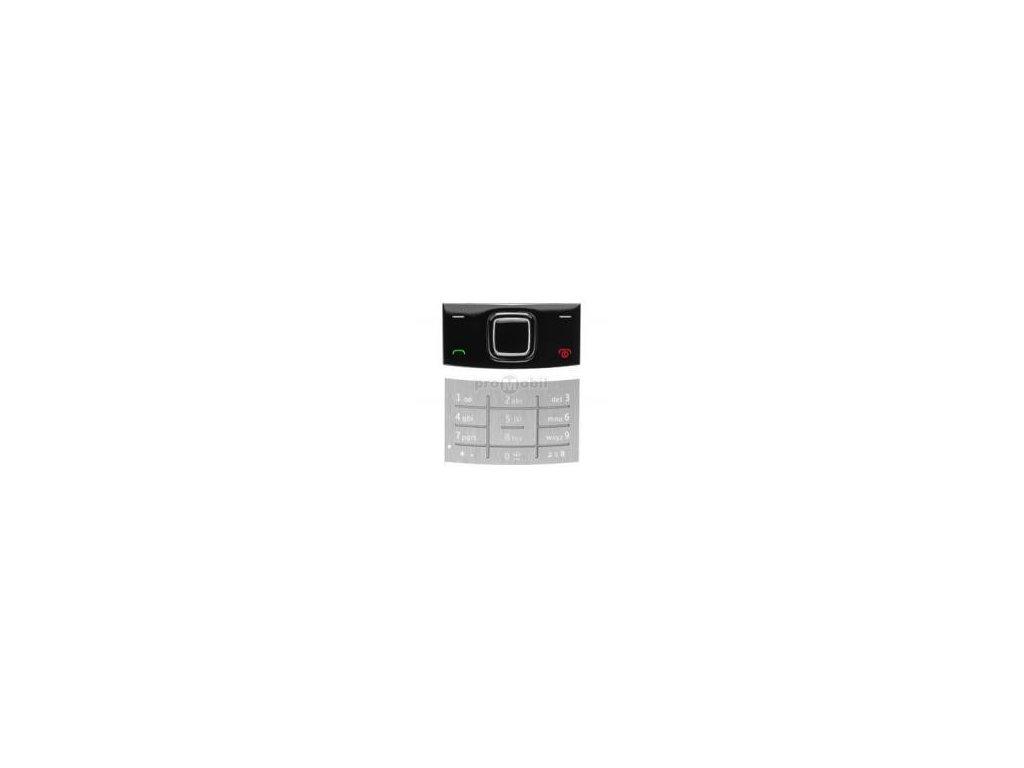Klávesnice Nokia X3 Silver set - original