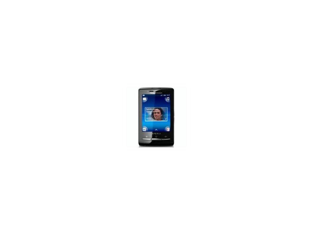 Cover Sony Ericsson X10mini Black front + Baterie cover - original