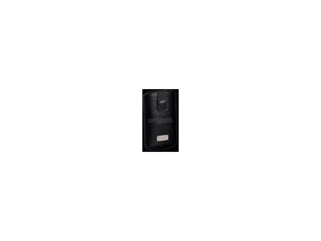 Pouzdro TelOne SNAKE pro HTC WILDFIRE/LG BL20/GT500/GT505/KP500/SAM F480/S3650/S5230/S5260 black