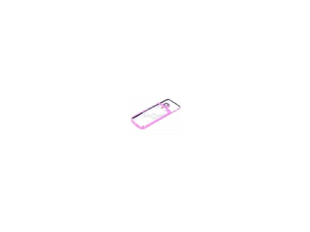 Middle cover Nokia 6700c Pink - originál