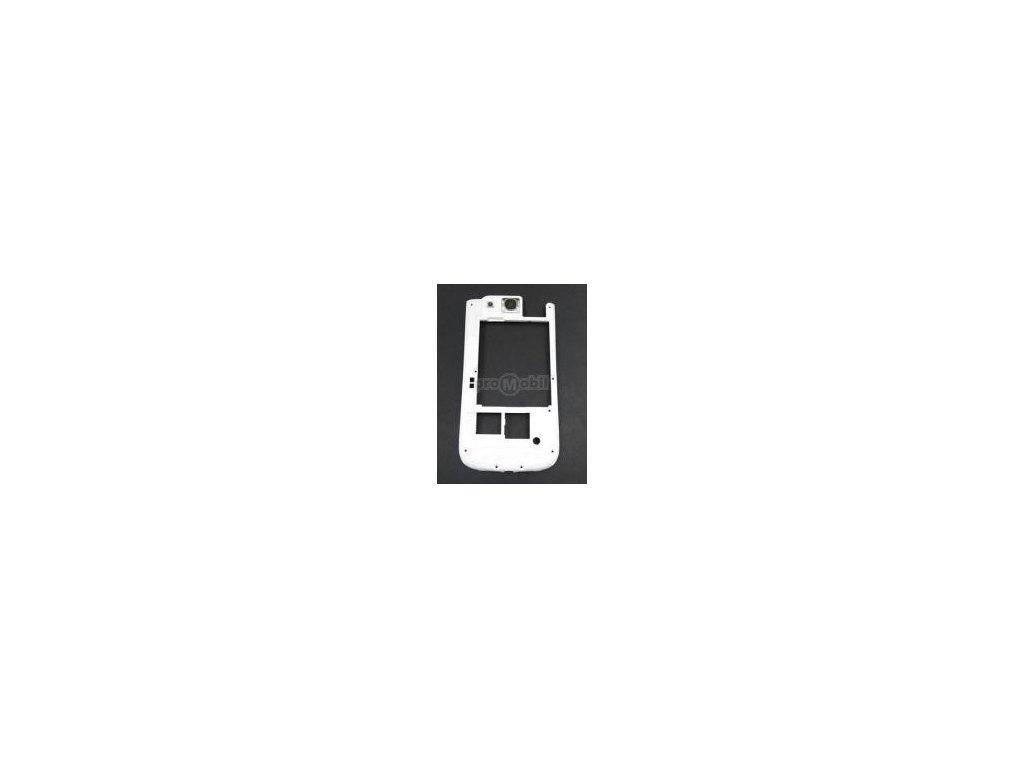 Střední díl Samsung I9300 ceramic white originál