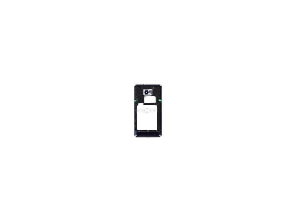 Střední díl Samsung I9105 modrý originál