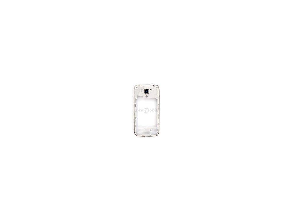 Střední díl Samsung I9195 bílý originál