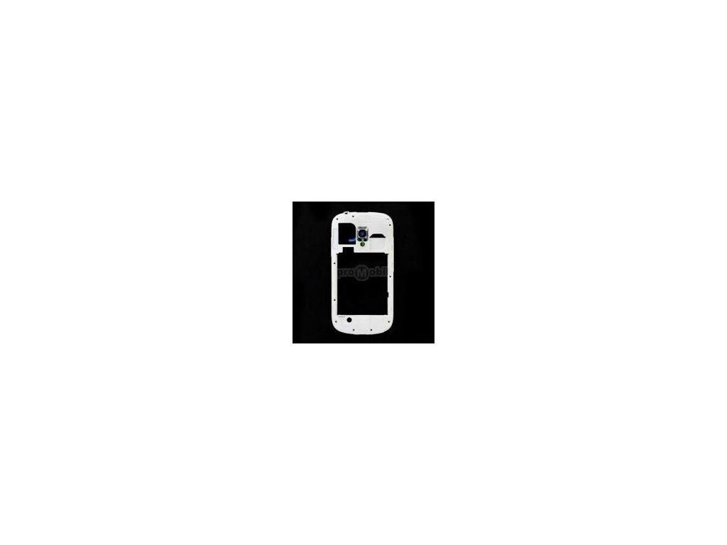 Střední díl Samsung I8190 bílý originál