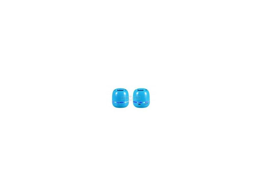 Multimediální Mini reproduktor s bluetooth modrý