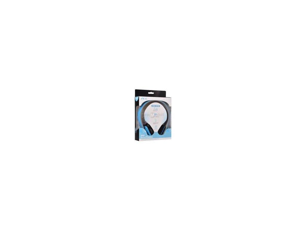 Smart Bluetooth audio sluchátka s mikrofonem (BQ618) blue