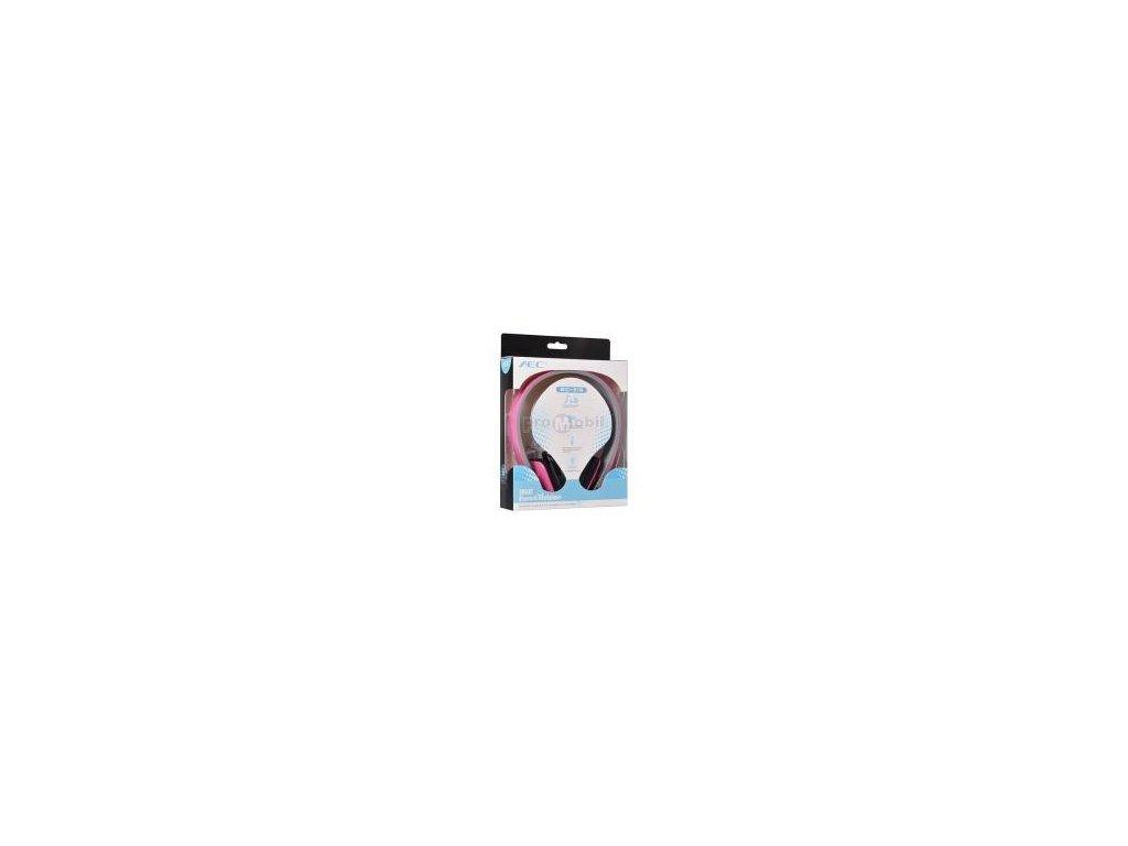 Smart Bluetooth audio sluchátka s mikrofonem (BQ618) pink