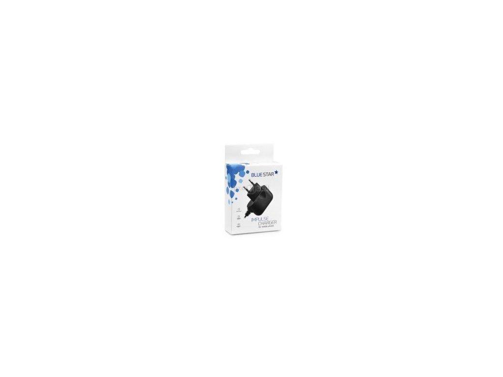 Cestovní pulzní nabíječka Blue Star micro USB 2A Nokia, Sony Ericsson, Samsung, HTC....
