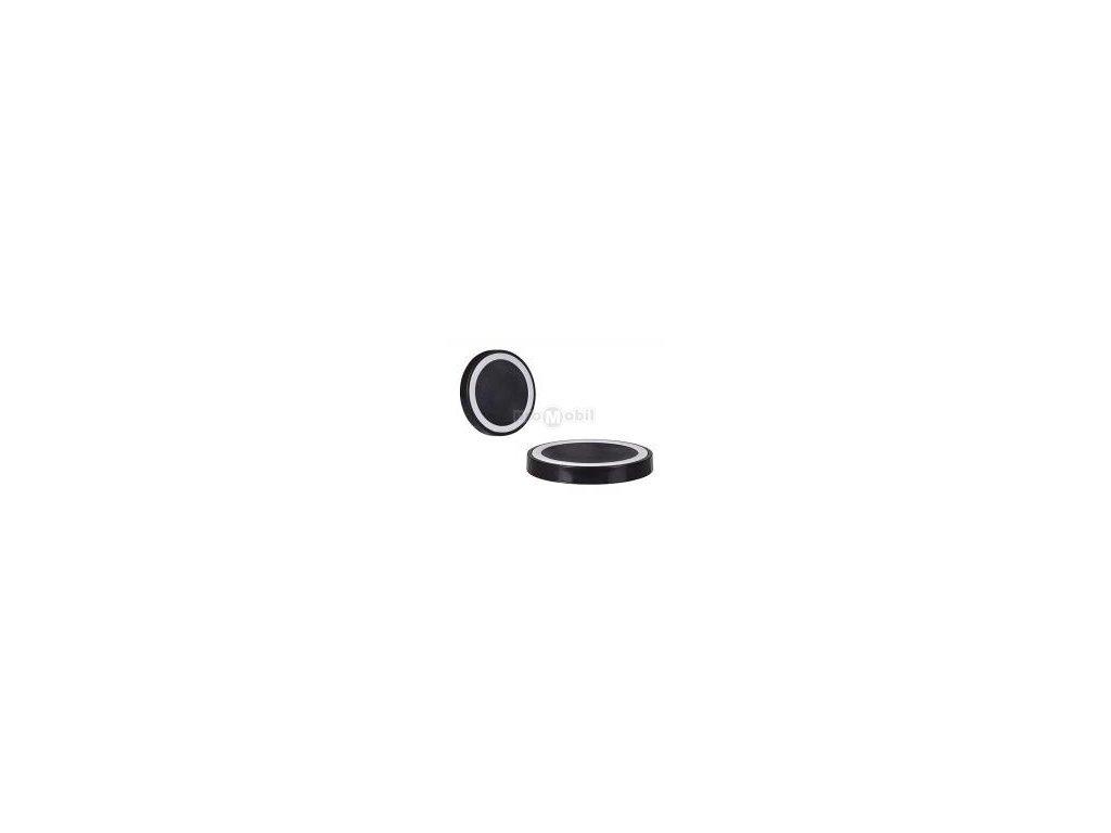 Bezdrátová indukční nabíječka na mobilní telefon QI typ 1 černo-bílá