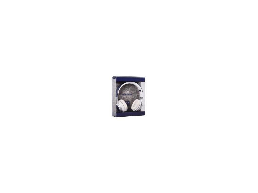 Sluchátka audio extra bass s mikrofonem (EP16) navy