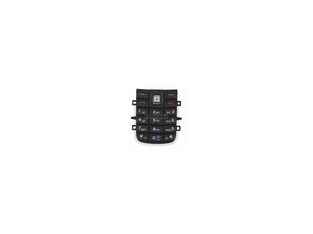 Klávesnice Nokia 6020, 6021 černá - originál
