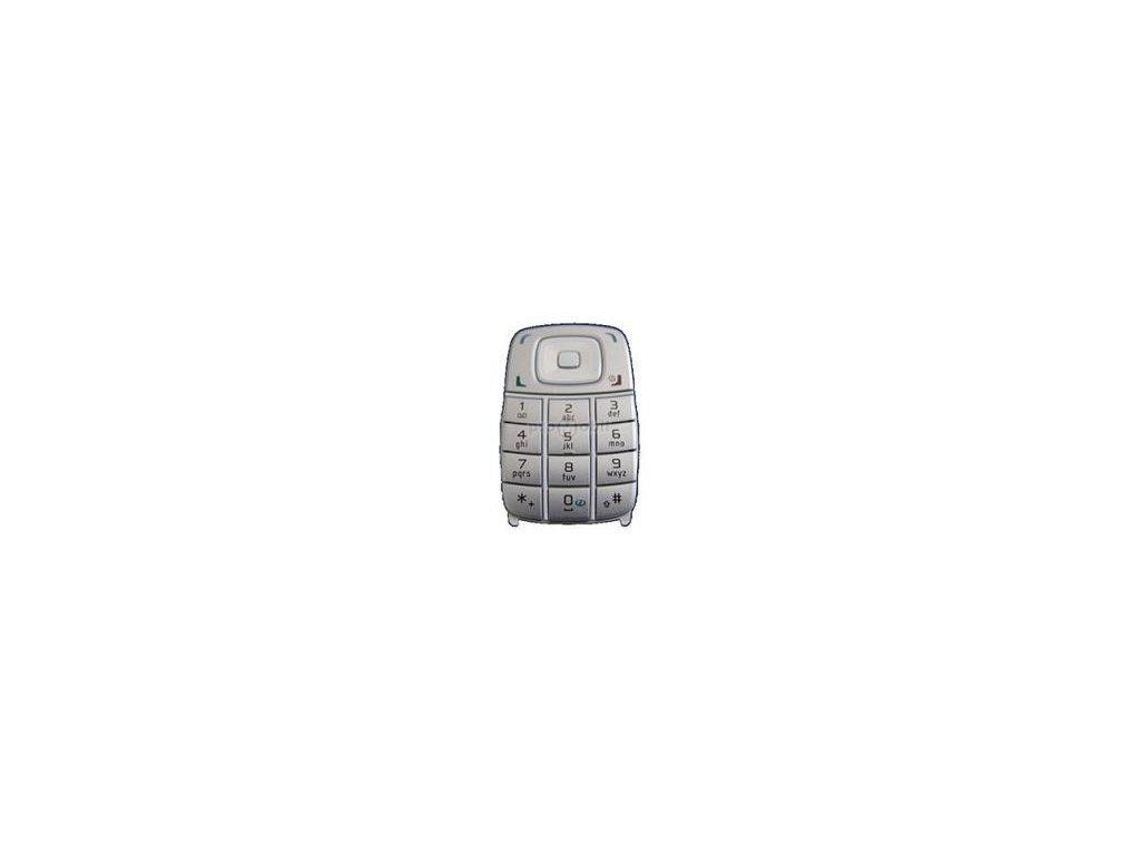 Keypad Nokia 6101 white - original