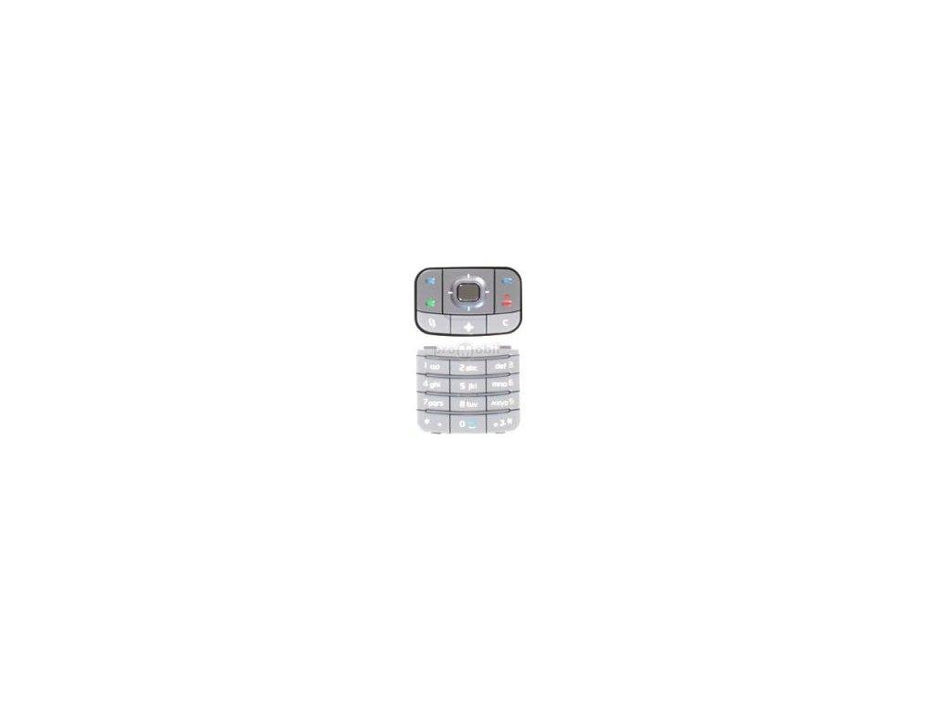 Klávesnice Nokia 6110 Navigátor bílá - originál