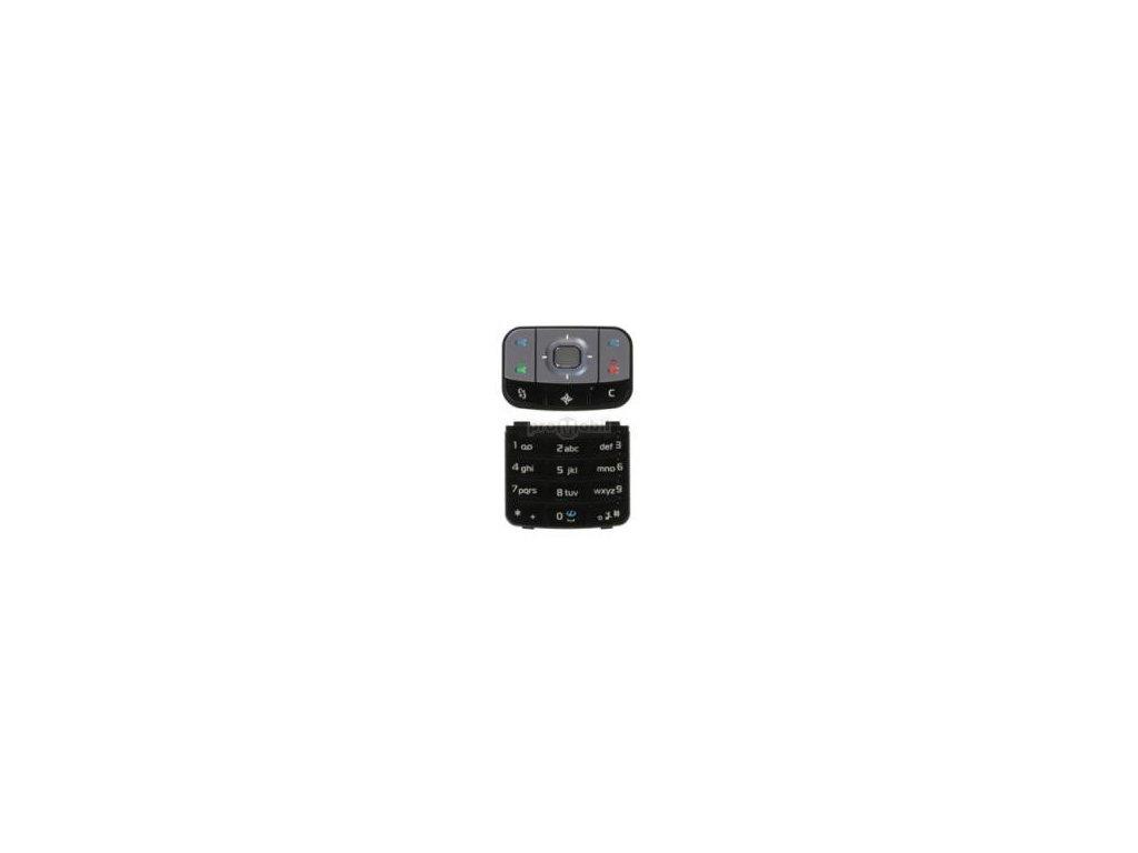 Klávesnice Nokia 6110 Navigátor černá - originál
