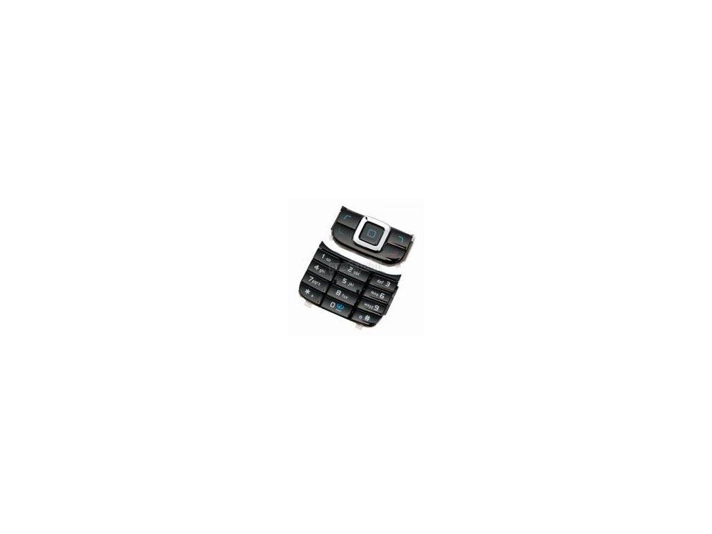 Klávesnice Nokia 6111 černá - originál