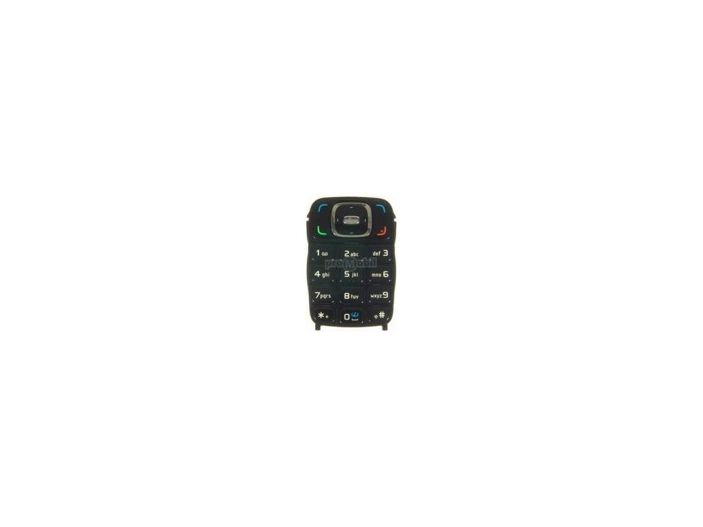 Klávesnice Nokia 6131 černá - originál