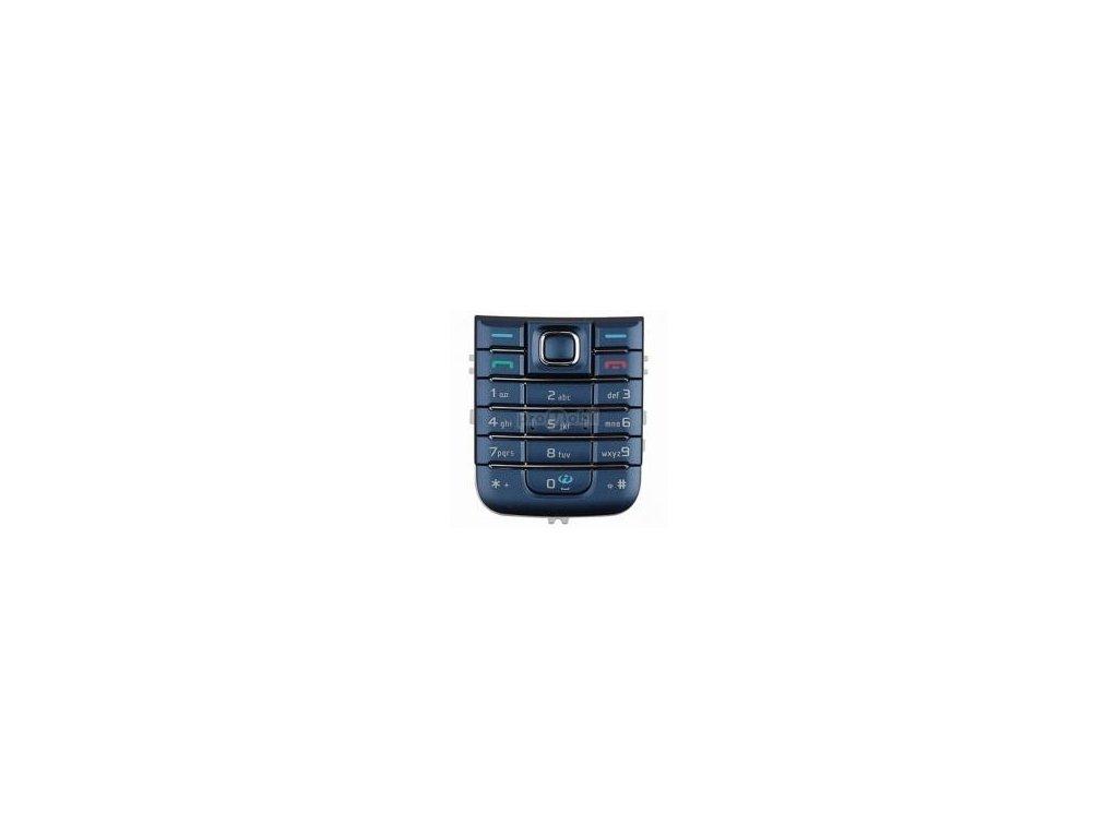 Klávesnice Nokia 6233 modrá - originál
