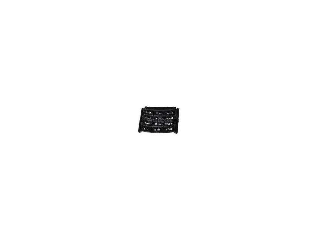 Klávesnice Nokia 6500 slide černá - originál