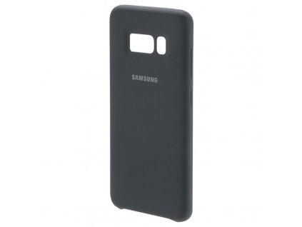 EF-PG955TSE Samsung Silicone Cover Grey pro G955 Galaxy S8 Plus (poškozený blister)