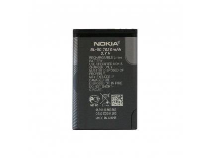 Original Baterie BL-5C Nokia 3100/6600/3650/N70 1020 mAh bulk