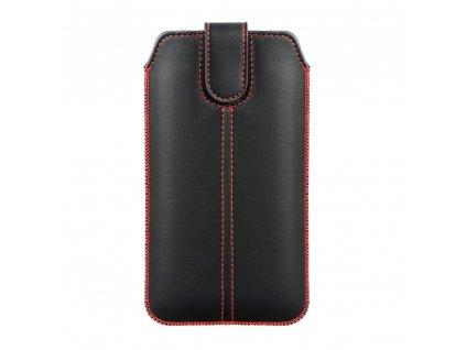 Forcell Pocket Pouzdro Ultra Slim M4 - pro Iphon 6/7/8 / Samsung i9500 Galaxy S4/Galaxy A3 black
