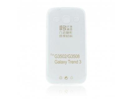 Back Pouzdro Ultra Slim 0,3mm pro SAMSUNG Galaxy Core Plus (G350) pro transparent