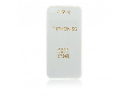 Back Pouzdro Ultra Slim 0,3mm pro IPHONE 5/5S/5SE transparent
