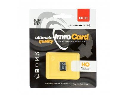 Memory Card Imro microSD 8GB Class 10 UHS