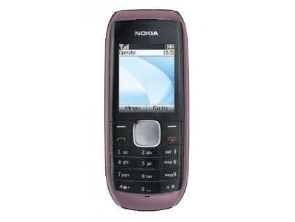 Nokia 1800 kryt Orchid Red přední + zadní originál