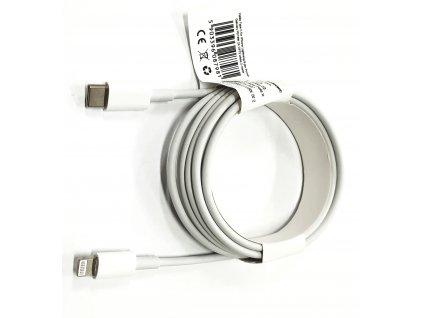 Kabel Type C pro iPhone Lightning 8-pin PD18W 2A C973 white 2 metry