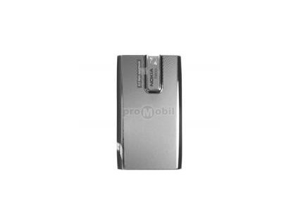Kryt Nokia E66 zadní baterie White steel - originál