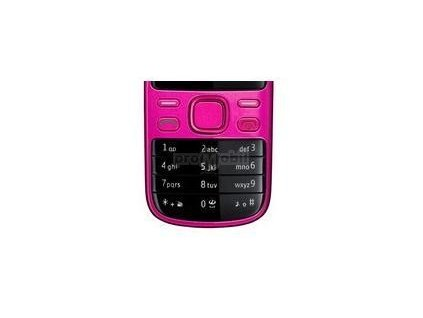 Keypad Nokia 2690c hot pink - original