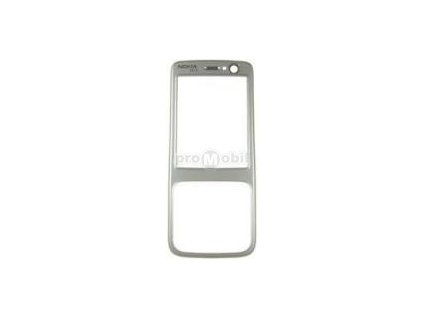 Front cover Nokia N73 silver  - original