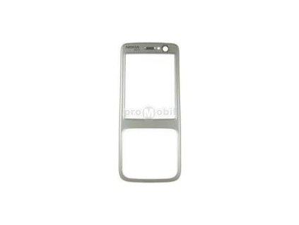 Front cover Nokia N73 silver  - original