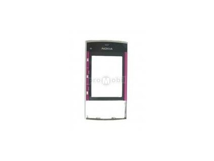 Front cover nokia X3 Black/Pink - original