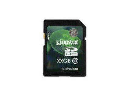 Paměťová karta Kingston SDHC karta 16GB Class 10
