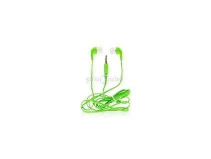 Sluchátka Frorcell univerzální 3.5mm jack green