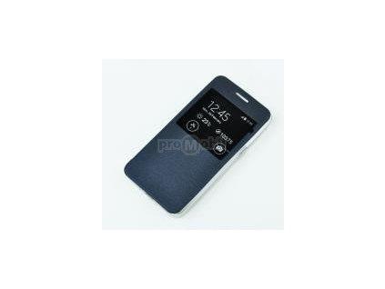 Pouzdro Etui S-view Flexi s okýnkem I8190 SAM Galaxy S3 mini dark blue