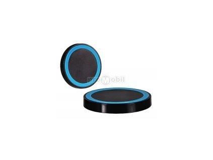 Bezdrátová indukční nabíječka na mobilní telefon QI typ 1 černo-modrá