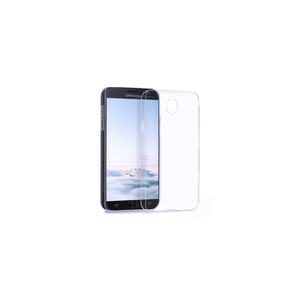 Ultratenké zadné silikónové puzdro čiže obal Samsung J3 2017 priehľadný