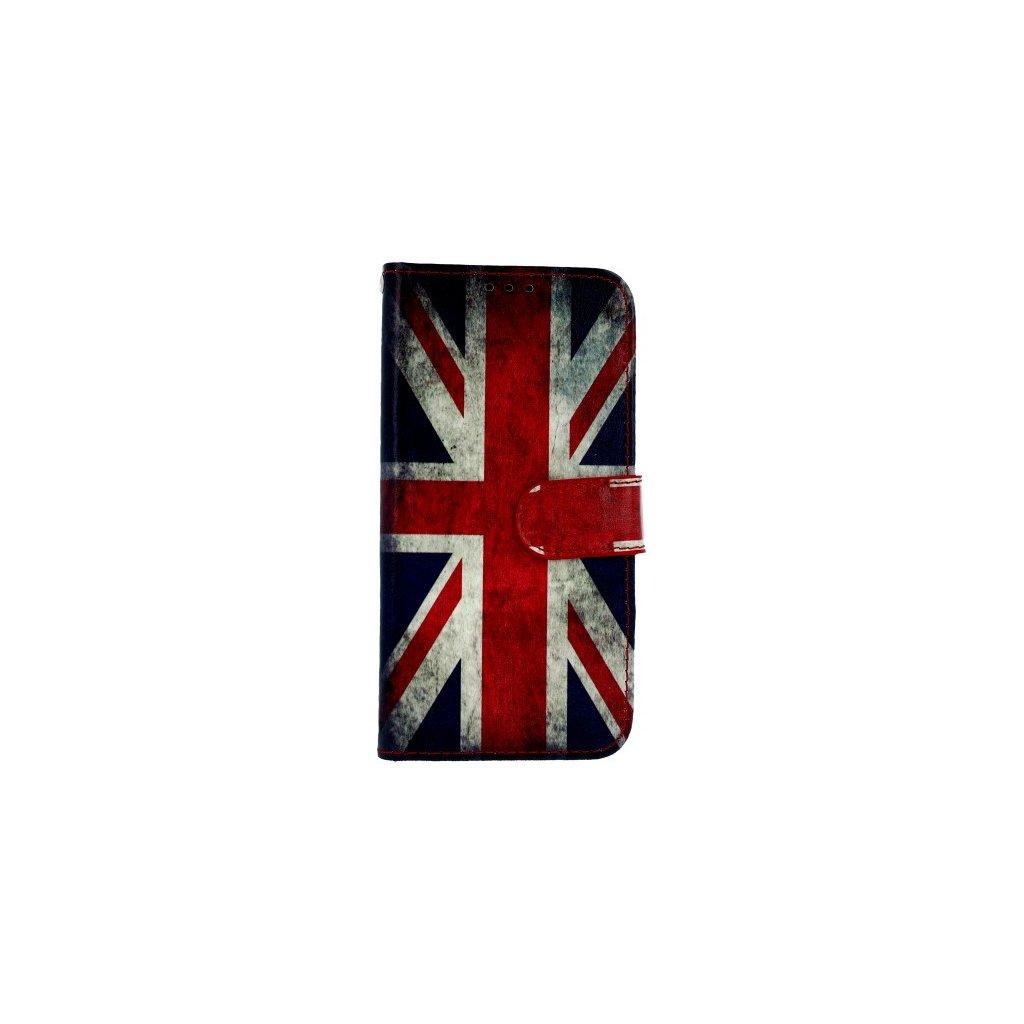 Flipové puzdro na Samsung J5 2017 Anglicko