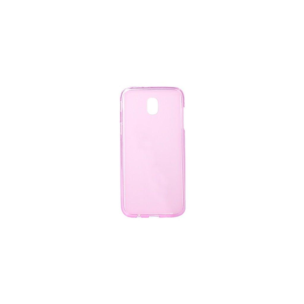 Zadný silikónový kryt na Samsung J5 2017 ružový