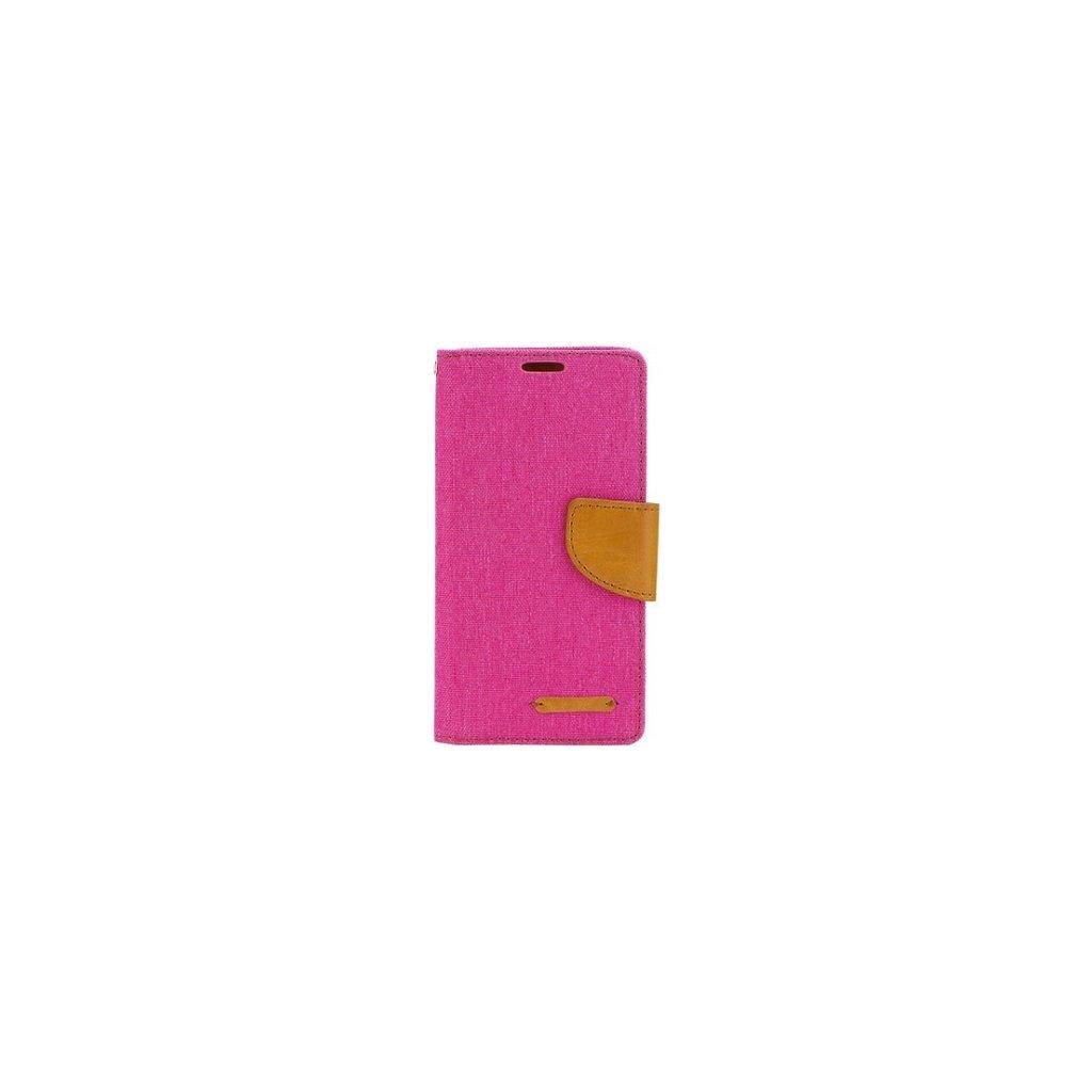 Flipové puzdro Canvas na Samsung J5 2017 ružové