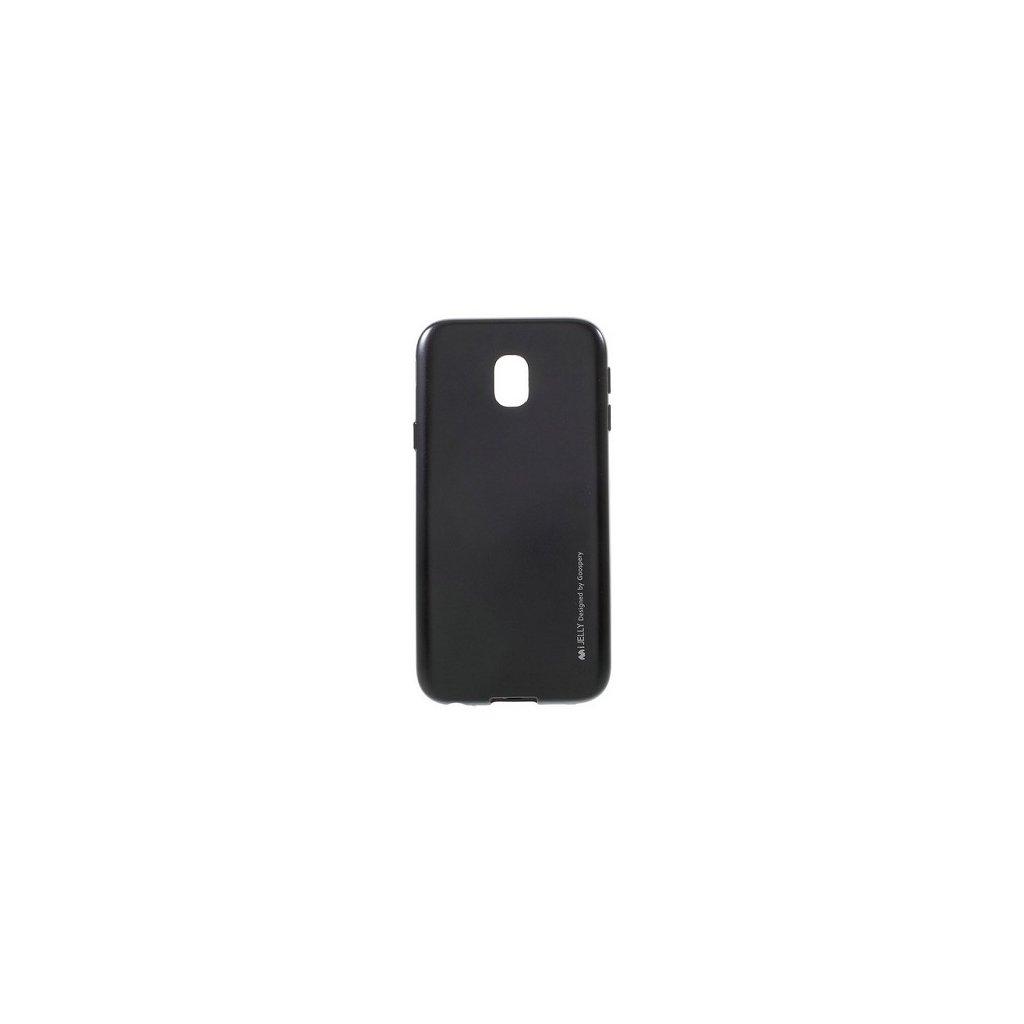Zadný kryt Mercury iJelly Metal na Samsung J3 2017 čierny
