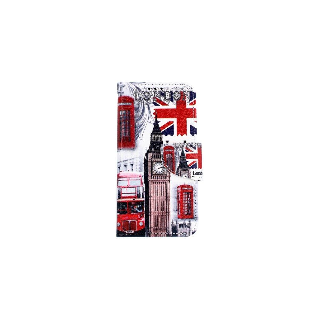 Flipové puzdro na Samsung J5 2017 Londýn