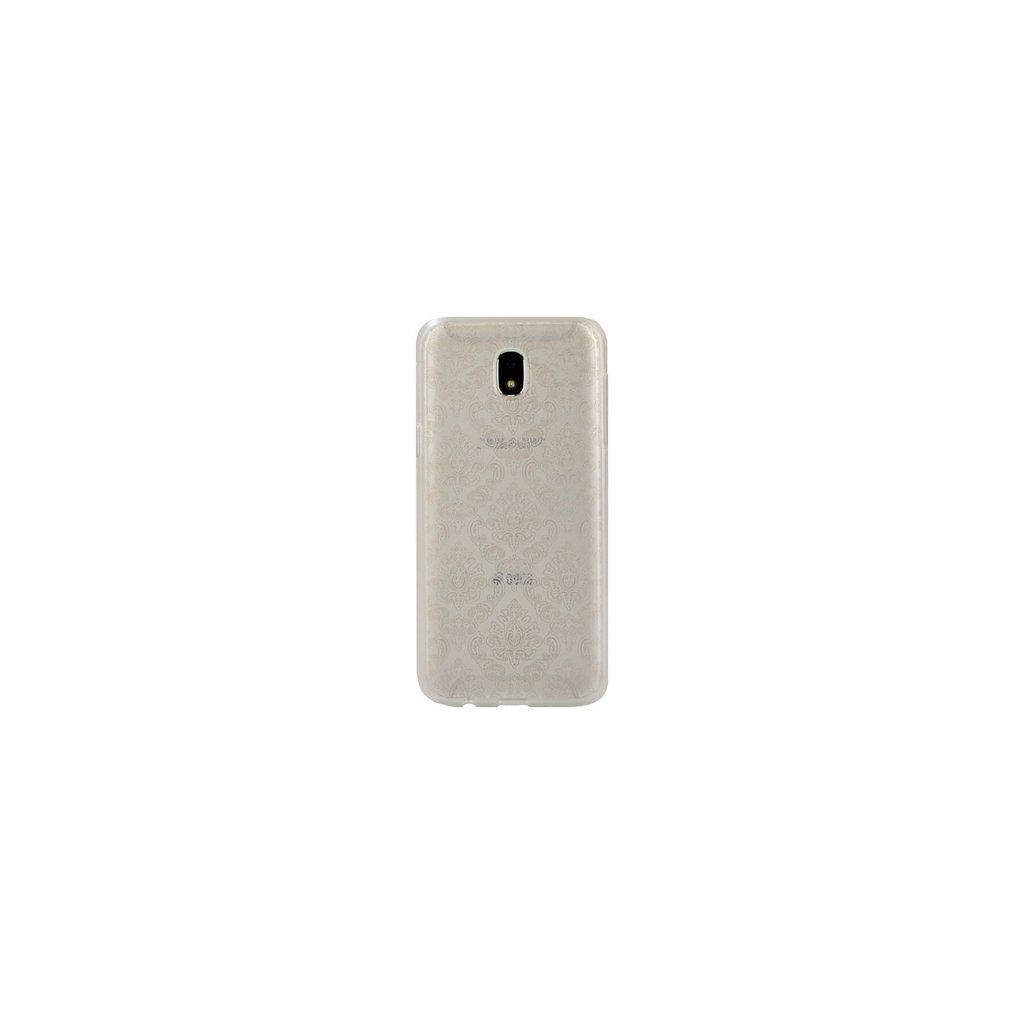 Zadný silikónový kryt na Samsung J5 2017 Retro biely