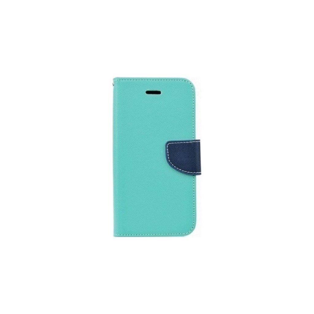 Flipové puzdro na Samsung A8 2018 mentolové