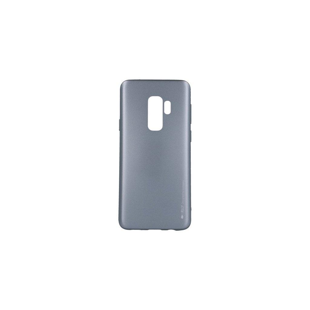 Zadný kryt Mercury iJelly Metal na Samsung S9 Plus sivý